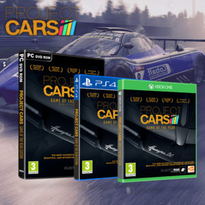 Project Cars HTML template